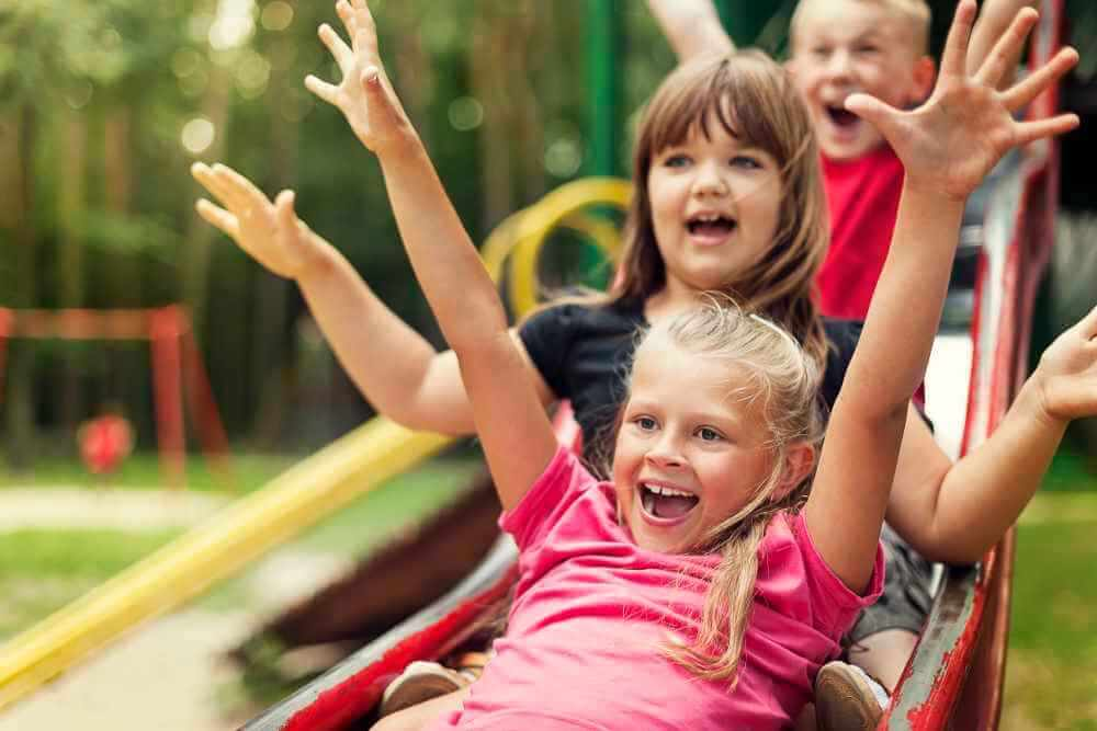 Kids going down slide - marriage insight we can learn from kids