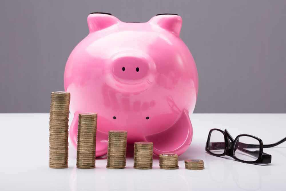 Piggy bank - financial stress in marriage